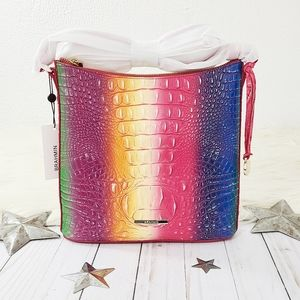 Brahmin Confection Katie crossbody bag rainbow NWT